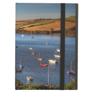 Boats on the River Avon at Bantham Case For iPad Air