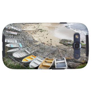 Boats on the shore of Gordon's Bay Galaxy SIII Case