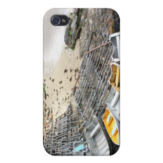 Boats on the shore of Gordon's Bay iPhone 4/4S Case