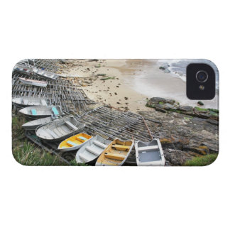 Boats on the shore of Gordon's Bay iPhone 4 Case-Mate Cases