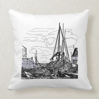 boats on the water cushion