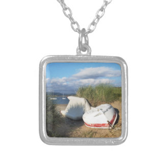BOATS SILVER PLATED NECKLACE