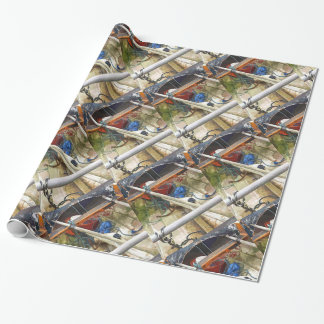 BOATS WRAPPING PAPER