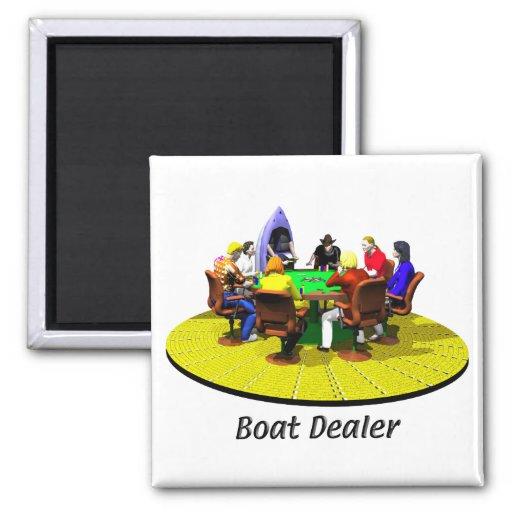 Boats, Yachts - Boat Dealer Refrigerator Magnets