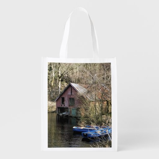 BOATS REUSABLE GROCERY BAGS