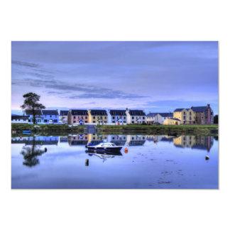 Boatyard Reflections Invite Card 13 Cm X 18 Cm Invitation Card