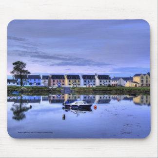 Boatyard Reflections Mouse Mat