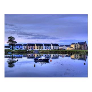 Boatyard Reflections Post Cards