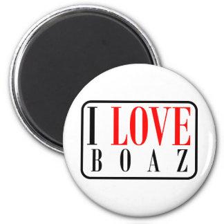 Boaz, Alabama City Design 6 Cm Round Magnet