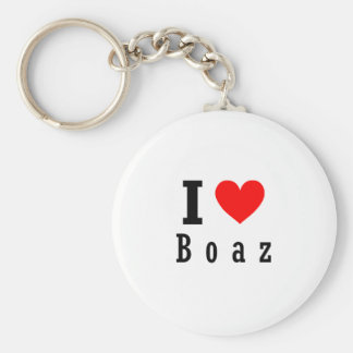 Boaz, Alabama City Design Key Ring