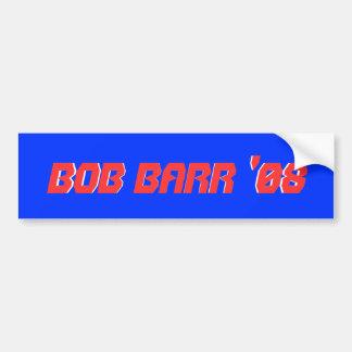 Bob Barr '08, Bob Barr '08 Bumper Sticker