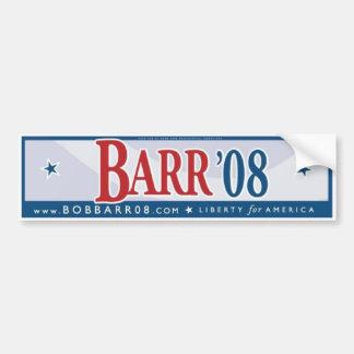 Bob Barr 08 Bumper Sticker