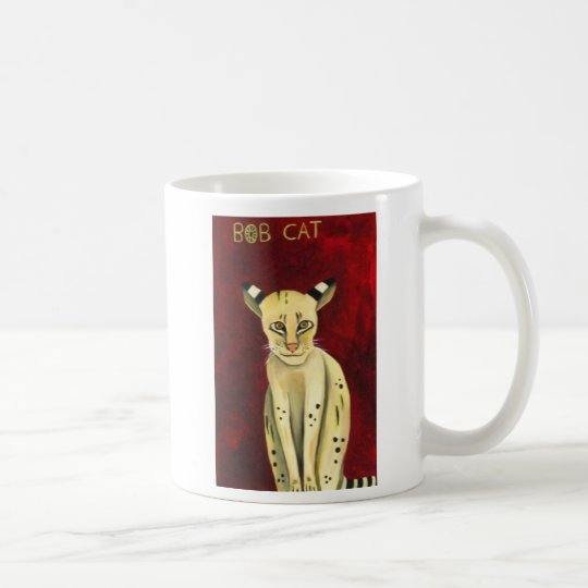 Bob Cat Coffee Mug