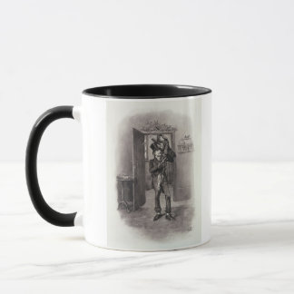 Bob Cratchit and Tiny Tim, from 'Charles Dickens: Mug