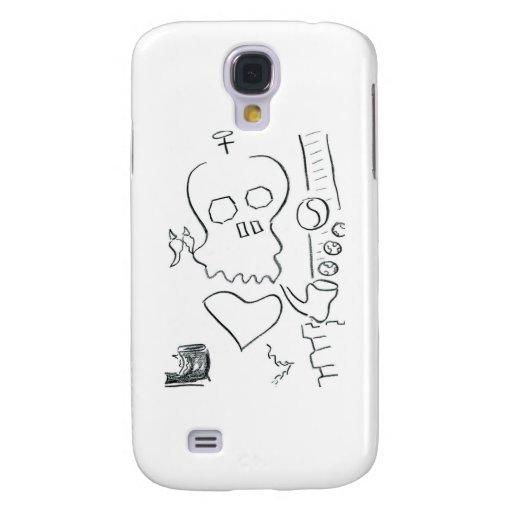 Bob Dobbs Skull Galaxy S4 Cover