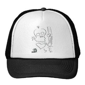 Bob Dobbs Skull Hats