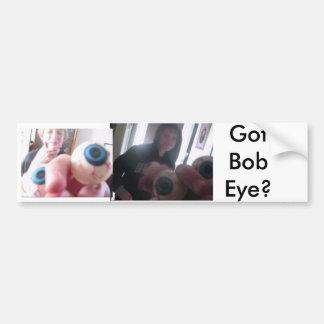 Bob Eye Bumper Sticker