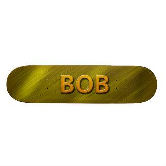 bob gold custom skateboard deck