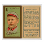 Bob Harmon Cardinals Baseball 1911 Posters