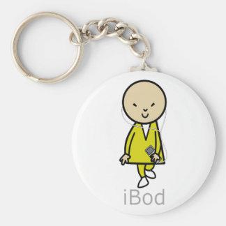 Bob Here Come Bod iBod IPod Keychain