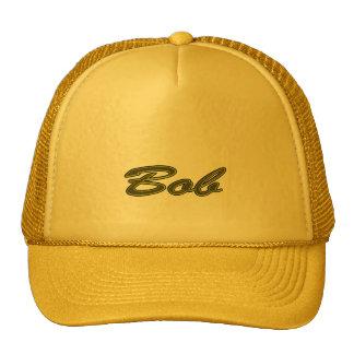 Bob Solid Yellow Style Trucker Hat