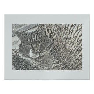 BOB THE CAT PERSONALIZED ANNOUNCEMENT