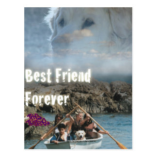 Bob The Dog - Best Friend Forever Postcard