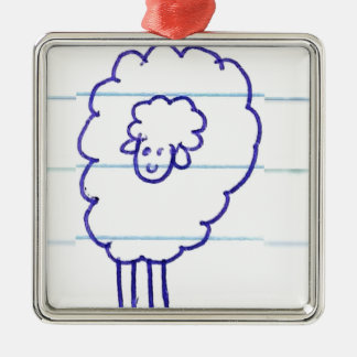 Bob the Lonely Sheep Christmas Ornament