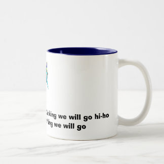 Bob the partier's drinking song Two-Tone mug