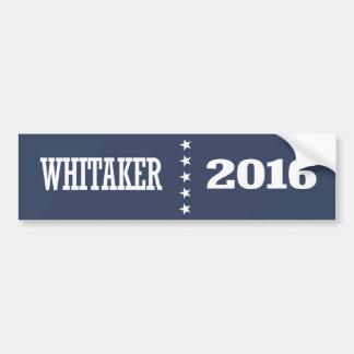 Bob Whitaker 2016 Bumper Sticker