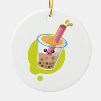 Boba Tea Christmas Ornament
