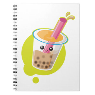 Boba Tea Notebooks