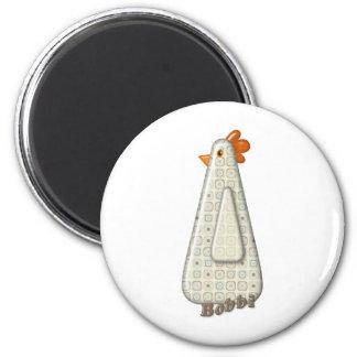 Bobbi 6 Cm Round Magnet