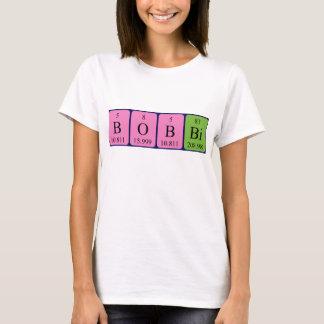 Bobbi periodic table name shirt