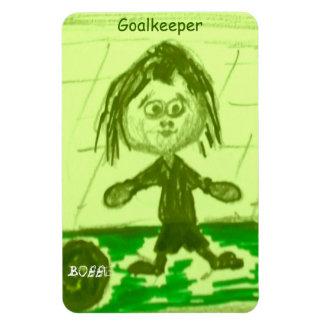 Bobbie - Goalkeeper Magnet
