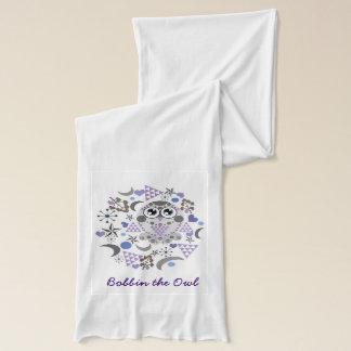 bobbin the owl scarf