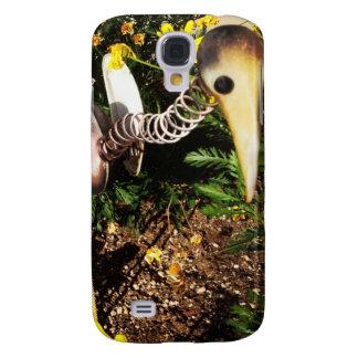 Bobbing Crane Lawn Ornament Folk Art Galaxy S4 Case