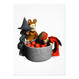 Bobbing For Apples Invite
