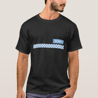 Bobby a police look a like t-shirt