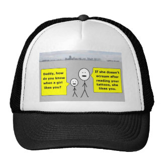 Bobby and Daddy - romantic advice Mesh Hats