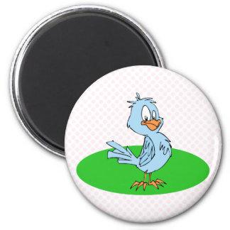 Bobby Blue Jay 6 Cm Round Magnet
