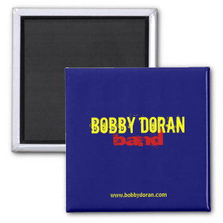 Bobby Doran Music - Square Magnet