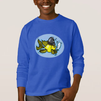 BOBBY FISH funny british policeman fish Sweatshirt