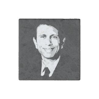 Bobby Jindal Face Stone Magnet