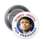 Bobby Jindal For President Pinback Button