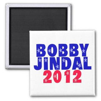 Bobby Jindal Square Magnet