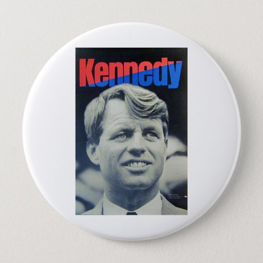 Bobby Kennedy '68 10 Cm Round Badge