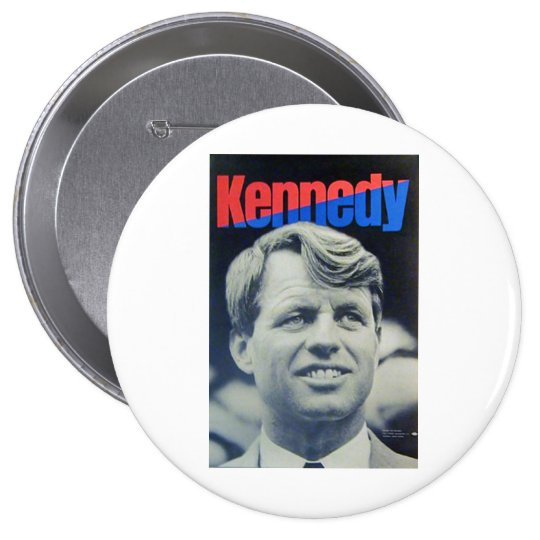 Bobby Kennedy '68 10 Cm Round Badge
