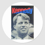 Bobby Kennedy '68 Classic Round Sticker