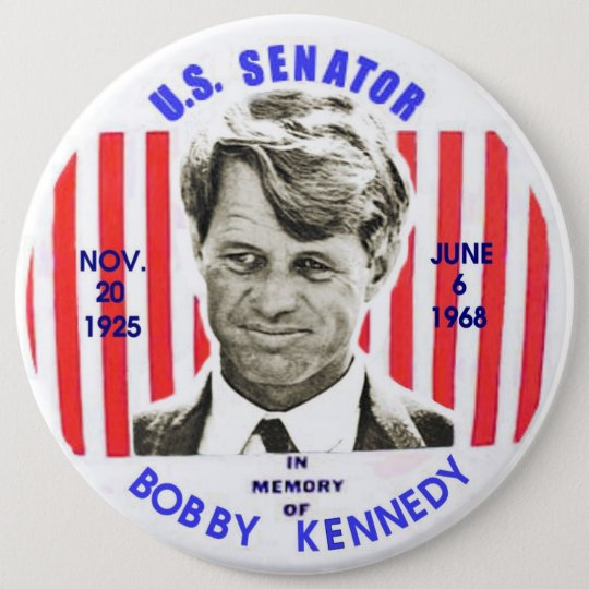Bobby Kennedy memorial pinback 6 Cm Round Badge